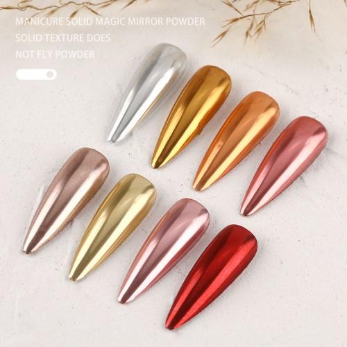 Втирка Четыре сезона для дизайна ногтей  в палетке №03  (4 цвета.)