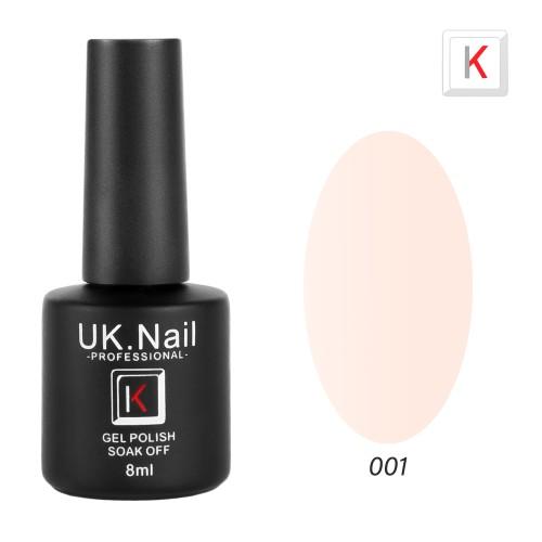 Гель-лаки  UK.Nail  8 мл, №01