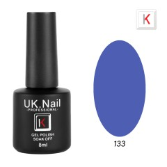Гель-лаки  UK.Nail  8 мл, №133