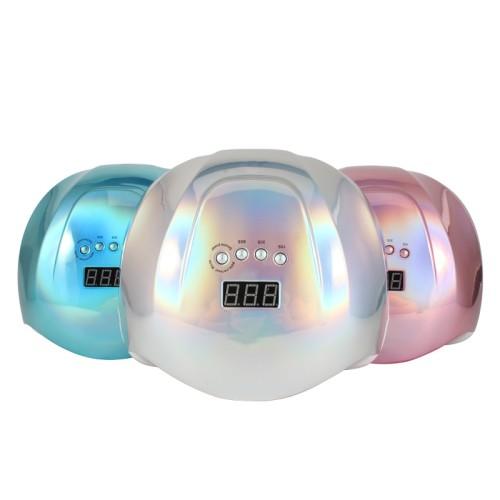 УФ лампа для сушки геля и гель-лака SUN X на 54 Вт, хамелеон