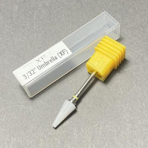 Насадка для фрезера керамическая, конус (желтая)