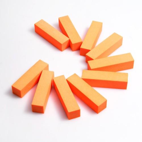 Баф для ногтей 4-х сторонний, цветной