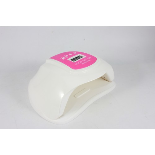 Мощная лампа UV+LED 72W Plus для сушки геля и гель-лаков на 2 руки