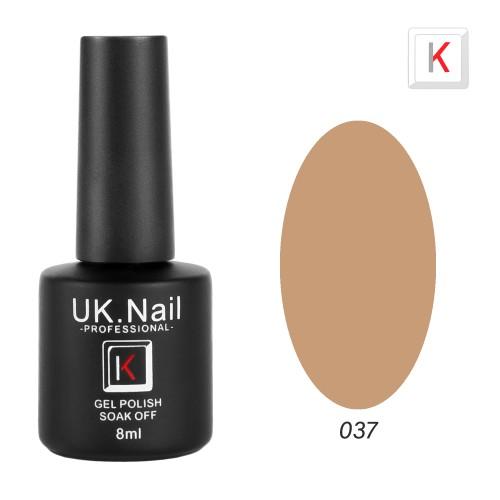 Гель-лаки  UK.Nail  8 мл, №37