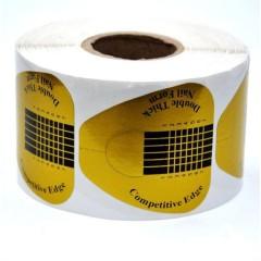 Форма для наращивания ногтей широкая 500 шт
