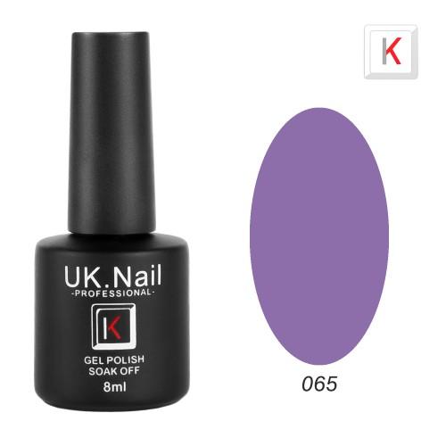 Гель-лаки  UK.Nail  8 мл, №65