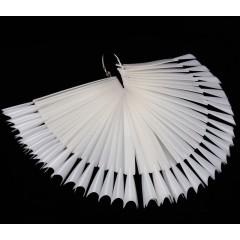 Палитра - веер матовая  фигурная на 50 штук