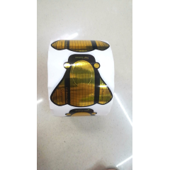 Форма для наращивания ногтей золотая (муха) summer 500 шт