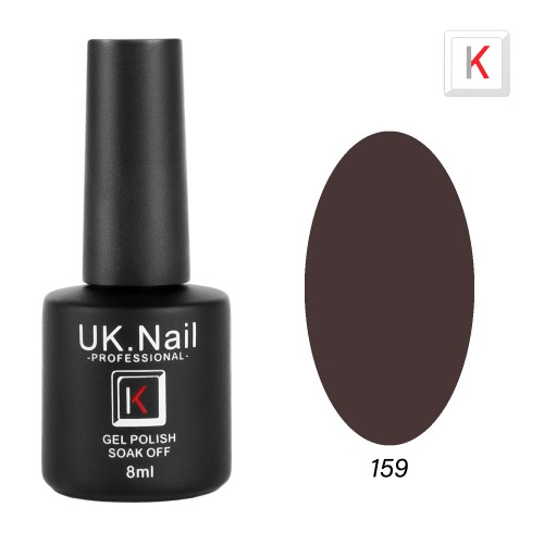 Гель-лаки  UK.Nail  8 мл, №159