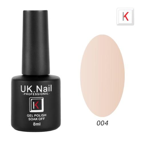 Гель-лаки  UK.Nail  8 мл, №04