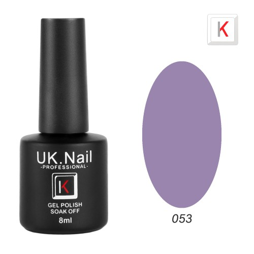 Гель-лаки  UK.Nail  8 мл, №53