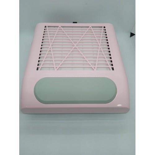 Вытяжка для маникюра pink BQ-858-8 мощностью 80Вт.