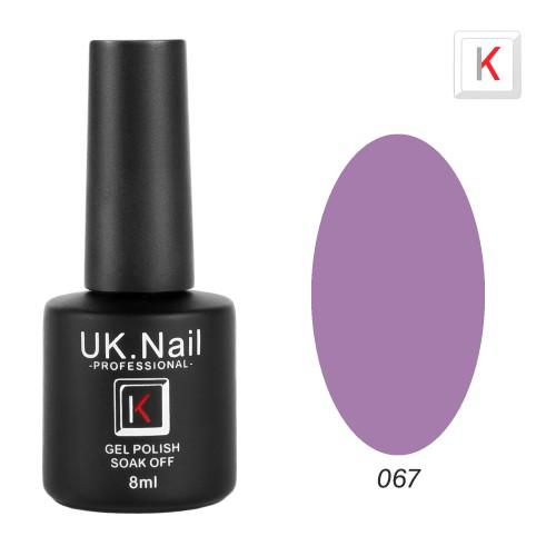 Гель-лаки  UK.Nail  8 мл, №67