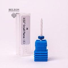 Насадка для фрезера керамическая, тонкий конус синяя
