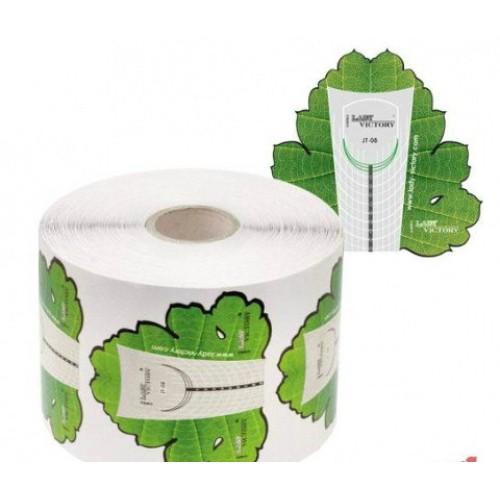 Форма для наращивания ногтей  виноградный лист  500 шт