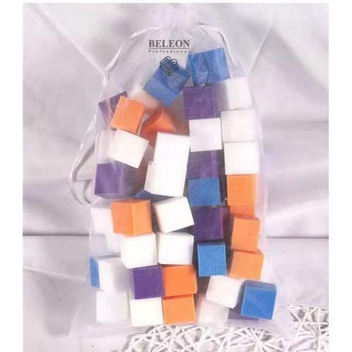 Набор мини бафов для маникюра.(56 штук в упаковке)