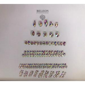 Набор декора для ногтей ,объемные фигурки хамелеон