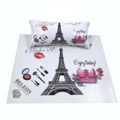 Подлокотник для маникюра с ковриком, с рисунками(Париж)