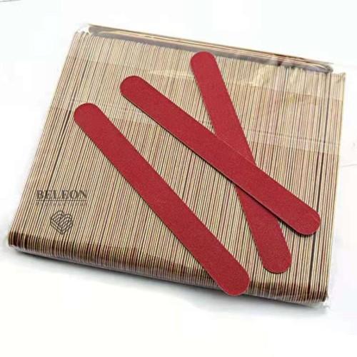 Пилки одноразовые для ногтей,тонкие.100 штук в упаковке (17 см)