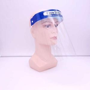 Защитная барьерная маска для индивидуальной защиты, прозрачная.