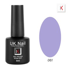 Гель-лаки  UK.Nail  8 мл, №61