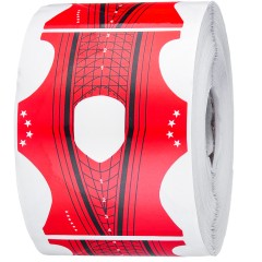 Форма для наращивания ногтей, красная на 300 штук.