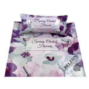 Подлокотник для маникюра с ковриком, с рисунками(Орхидея)